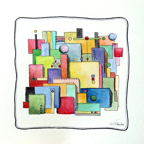 Abstrait - architecture N°175