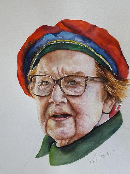 Portraits - vieille dame