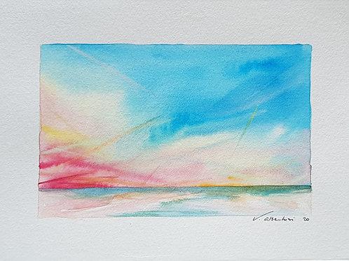 Paysage - ciel d'été côte d'Opale N° 16