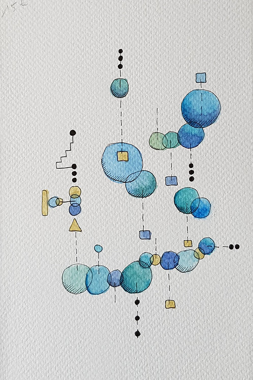 abstraits - bulles N° 280