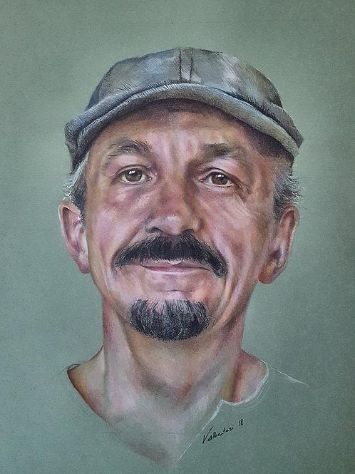 Portraits - homme à la casquette