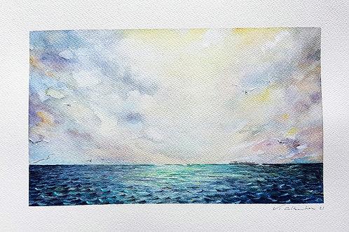 marine 284 aquarelle paysage mer valerie albertosi
