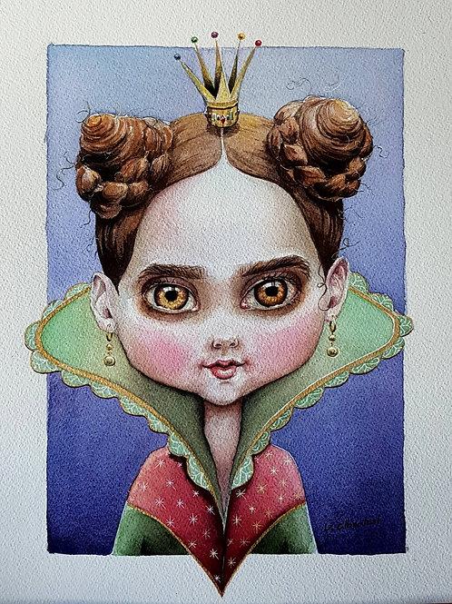 Illustration - La petite reine d'Espagne