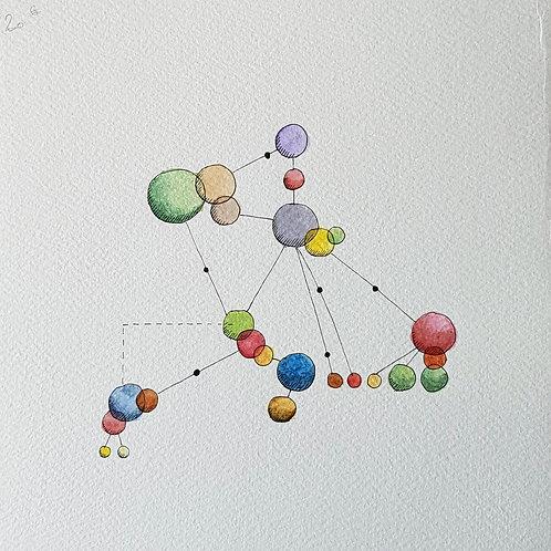 Abstraits -constellation N°91