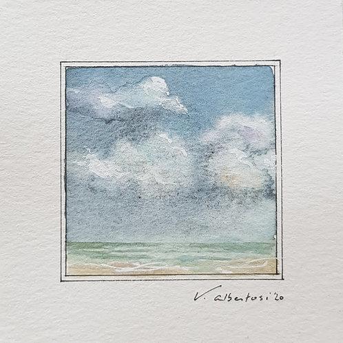 Paysage - ciel d'été N° 19