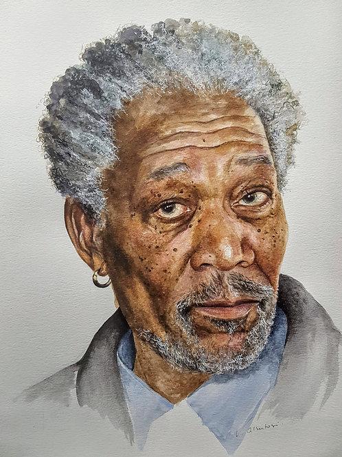 Portraits - Morgan Freeman