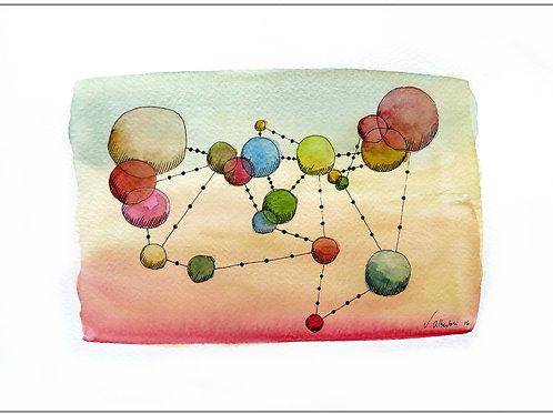 Abstrait - constellation N° 82