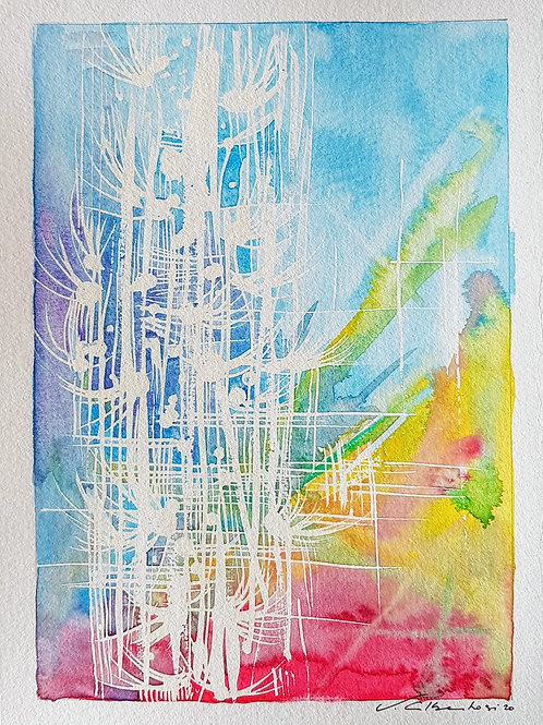 Abstraits - lyrique N°228