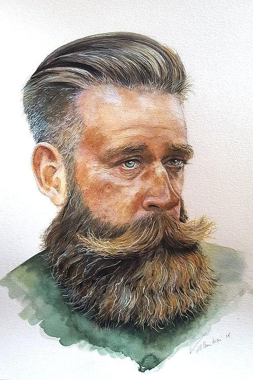 Portraits - homme barbu