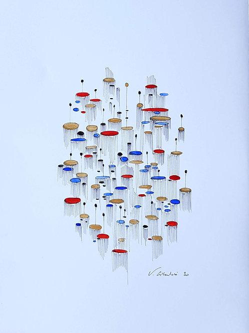 abstrait - méduses N°97