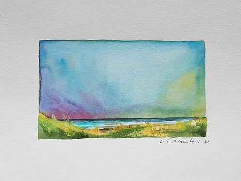 Paysage - ciel d'été côte d'Opale N° 9