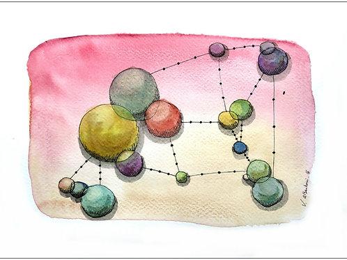 Abstrait - constellation N° 83