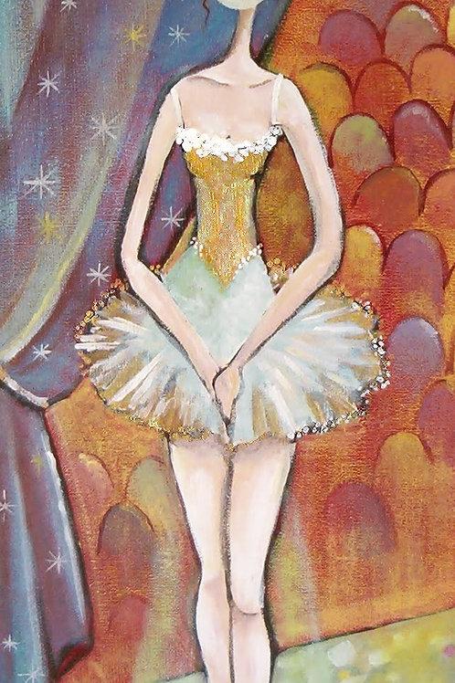 danseuse acrylique peinture naif valerie albertosi