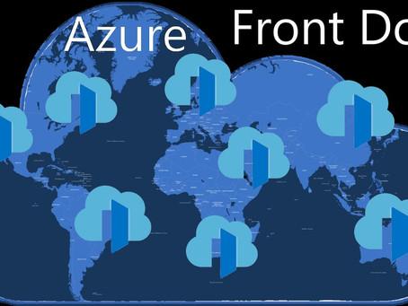 Using Azure Front Door for Eliminating preflight calls (CORS)