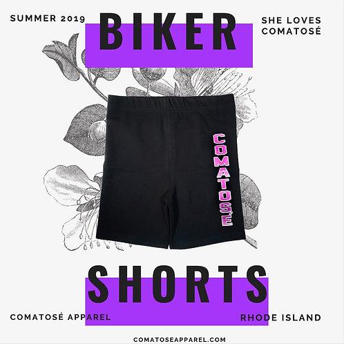 Love Comatosé Biker Shorts