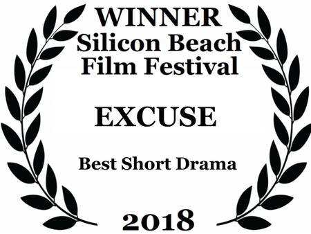 """Excuse"" Awarded at the Silicon Beach Film Festival | ""Excuse"" Premiada no Silic"