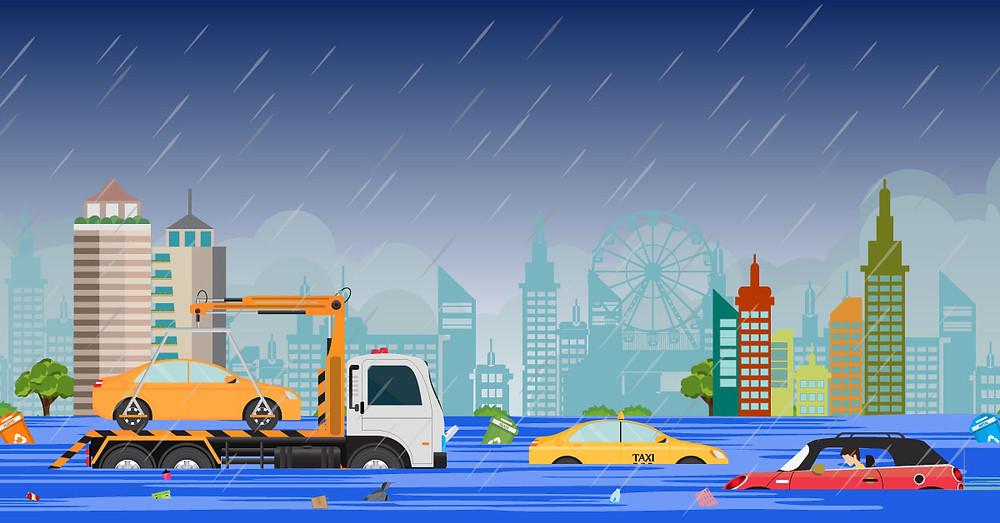 flood insurance for heavy rain and flooding