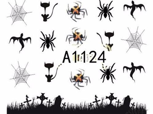 A1124 - מדבקת ציפורניים
