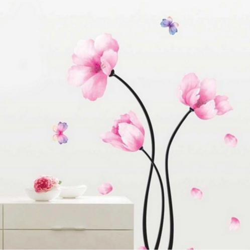 פרח אביבי וורוד