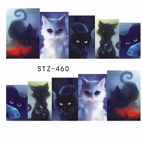 STZ460- מדבקת ציפורניים
