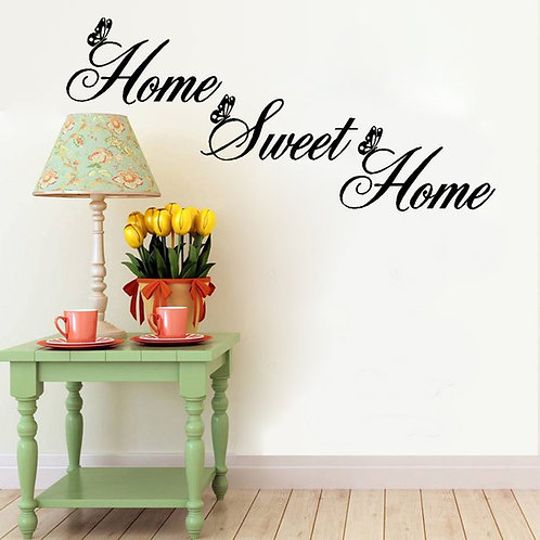 Home Sweet Home - מדבקת קיר - אין כמו הבית