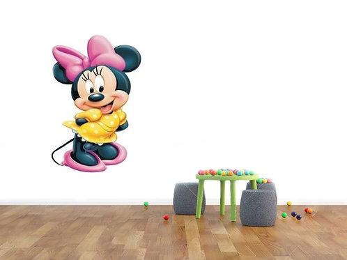 Minnie Mouse - מדבקת קיר - דיסני - מיני מאוס גדולה