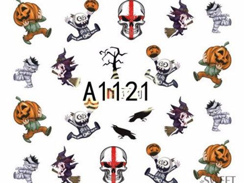 A1121 - מדבקת ציפורניים
