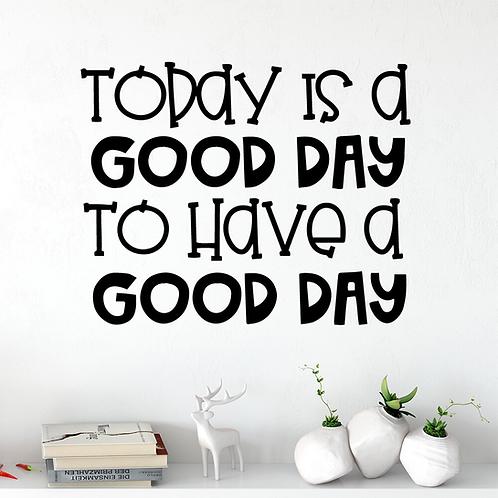 השראה- היום הוא יום טוב להינות מיום טוב