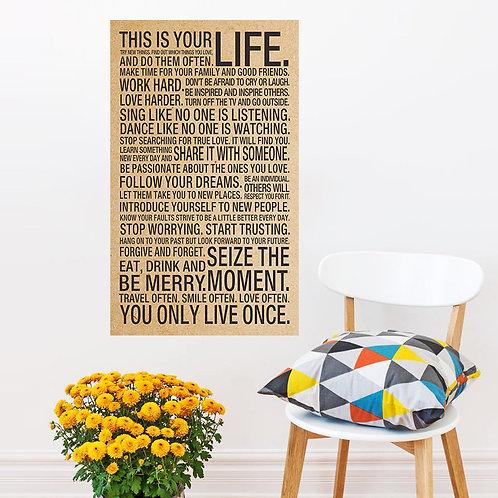 אלו החיים שלך-משפטי השראה