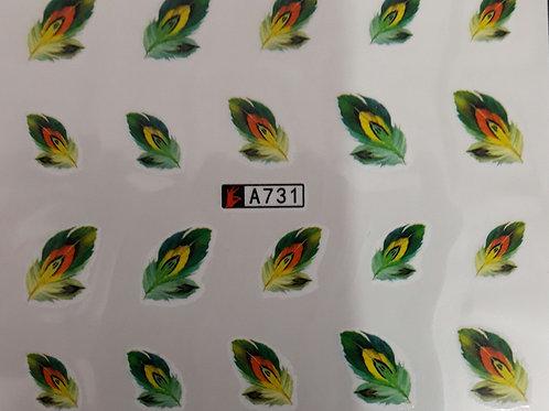 A731 - מדבקת ציפורניים