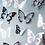 Thumbnail: פרפרים שחור ולבן תלת מימד