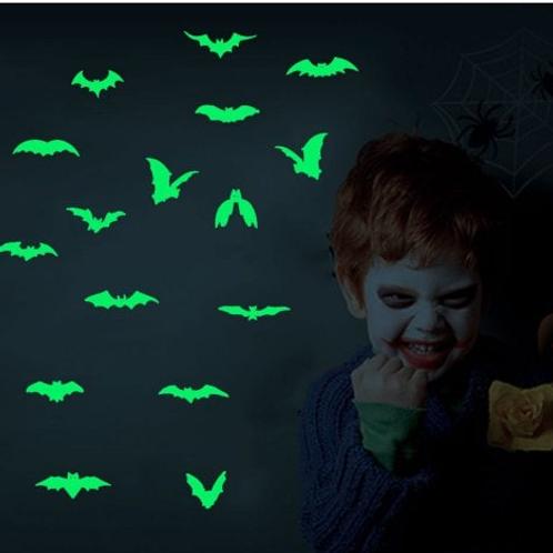 מדבקת קיר עטלפים זוהרים בחושך