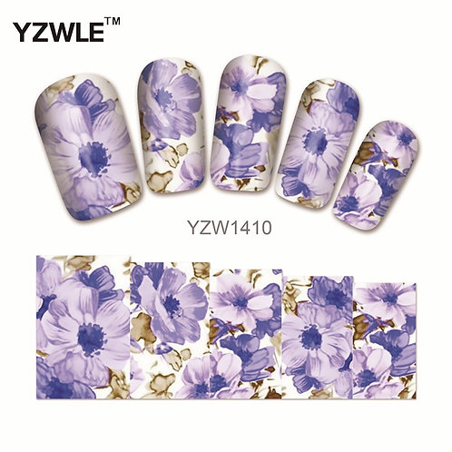 YZW1410 - מדבקת ציפורניים