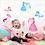 Thumbnail: Princesses & little Pony -מדבקת קיר חד קרן ונסיכות