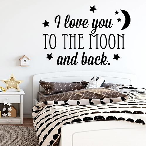 אני אוהב אותך עד הירח וחזרה