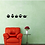 Thumbnail: מדבקת קיר ציפורים דקורטיבים