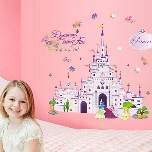 Princesses Palace  - מדבקת קיר ארמון הנסיכות