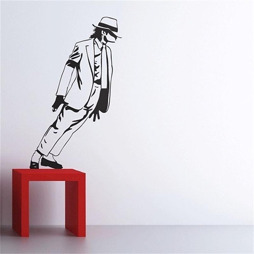 Michael Jackson - מדבקת קיר מייקל ג'קסון רוקד