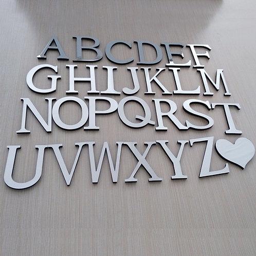 A-B-C ..אותיות אנגלית תלת מימד