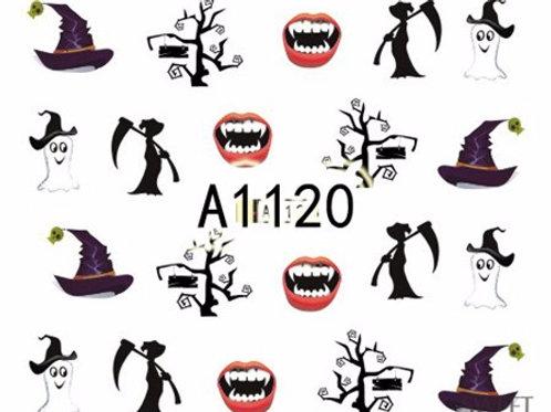 A1120 - מדבקת ציפורניים