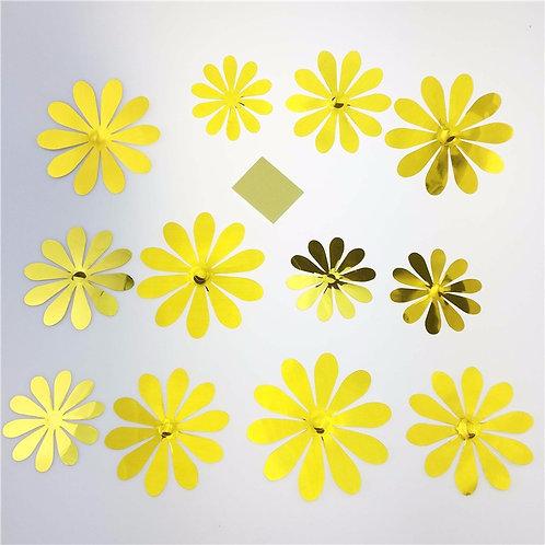 פרחים צהובים קשיחים