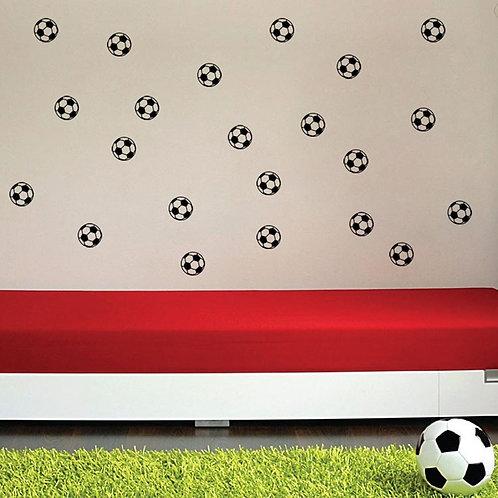מדבקת קיר - דמוי טפט - כדורגל
