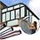 Thumbnail: מדבקות לחלונות ושמשות למיגון והצללה מפני השמש צבע כחול