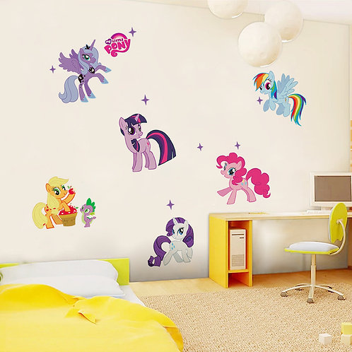 My little Pony - מדבקת קיר חד קרן