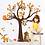 Thumbnail: עץ יער ובעלי חיים מצוירים