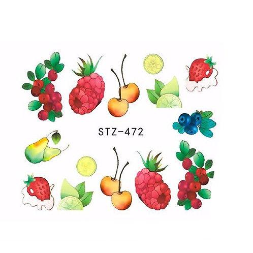 STZ472 - מדבקת ציפורניים