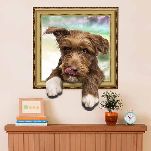 Sweetie Dog - מדבקת קיר - כלב חמוד