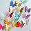 Thumbnail: פרפרים צבעוניים תלת מימד