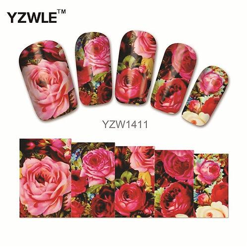 YZW1411 - מדבקת ציפורניים