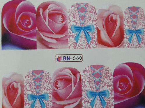 BN560 - מדבקת ציפורניים